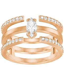 Rose Goldplated Stackable-in-one Ring