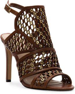 Korthina Leather Heeled Sandals