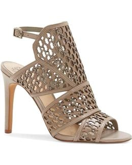 Korthina Leather Heeled Sandals