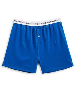 Athletic Knit Boxer Shorts