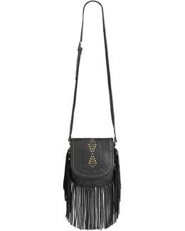 Bnoxx Fringe Leather Crossbody Bag