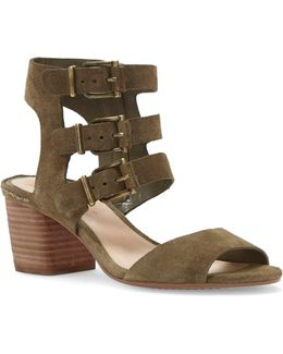 Geriann Suede Sandals