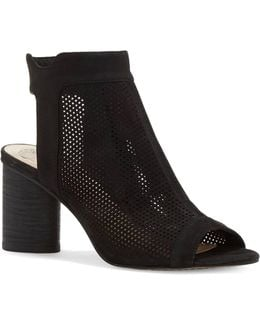 Jakayla Perforated Leather Shooties