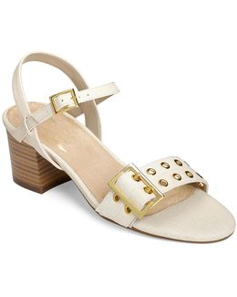 Mid Town Eyelet Sandals