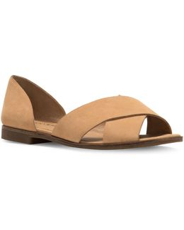 Gallah Leather Flat Sandals