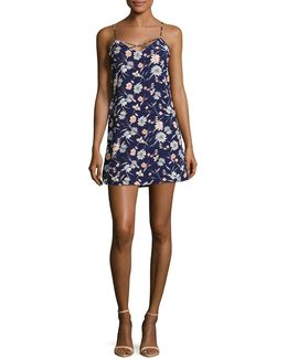 Lilas Floral Slip Dress