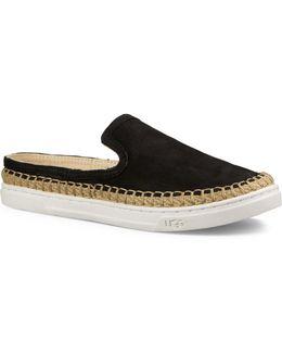 Caleel Nubuck Leather Espadrille Sandals