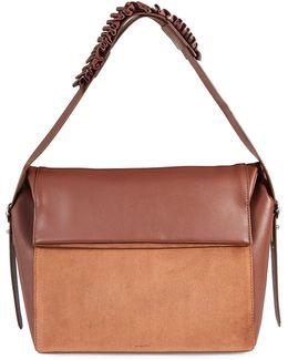 Maya Leather Shoulder Bag