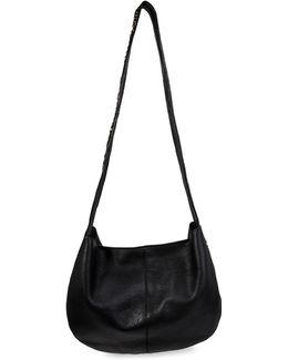 Coralin Leather Saddle Bag