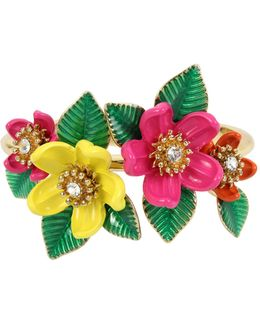 Tropical Flower Bangle