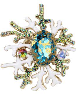 Glitter Reef Ring
