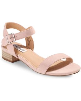 Cache Leather Buckle Sandals