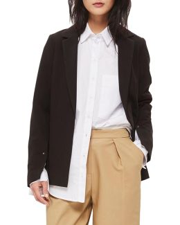Split-sleeved Blazer