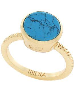 Spring Street Semi-precious Stone Ring