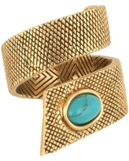 Tanta Crosshatch Ring