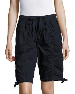 Quick-dry Cotton Cargo Shorts