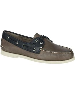 Sarape Leather Loafers