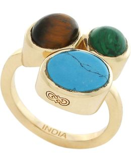 Spring Street Semi-precious Stone Cluster Ring