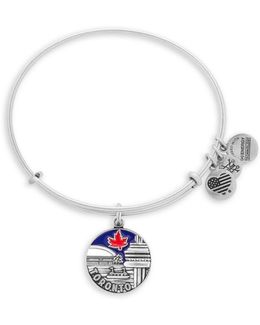 Toronto Silver-plated Bracelet