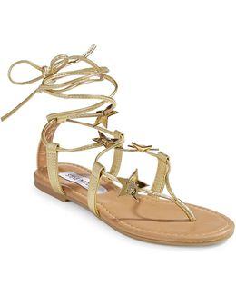 Jupiter Tie Sandals