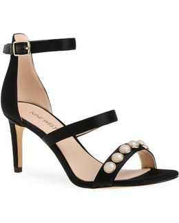 Austen Studded Ankle Strap Sandals