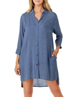 Striped Boyfriend Sleepshirt