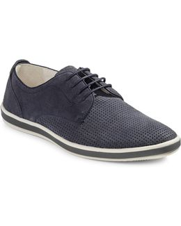 Stroll With It Perforated Derby Shoes