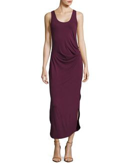 Dolphin Hem Tank Dress
