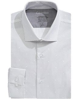 Extreme Slim Fit Printed Dress Shirt
