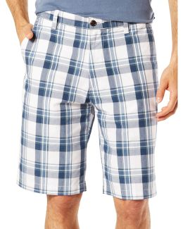 The Perfect Fit Classic Fit Plaid Shorts