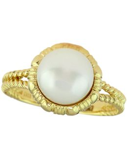 9mm Freshwater Pearl 14k Gold Ring