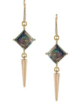 Double Drop Spear Earrings