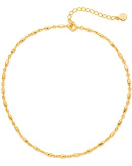 Nora 18k Goldplated Choker Necklace
