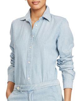 Petite Chambray Shirt