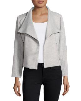 Textured Flyaway Jacket