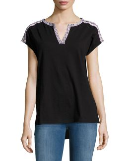 Embellished Tunic Tee