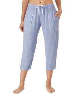 Printed Capri Pyjama Pants