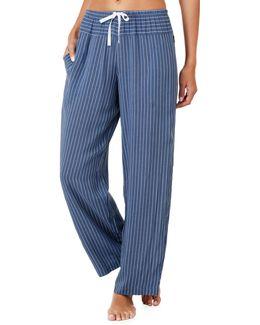 Printed Wide Leg Pyjama Pants