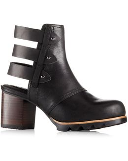 Addington Leather Booties