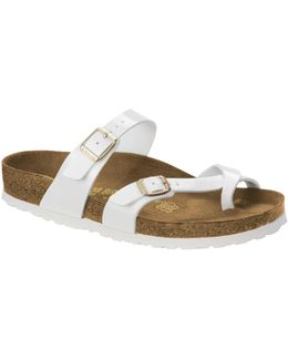 Toe Loop Slip-on Sandals