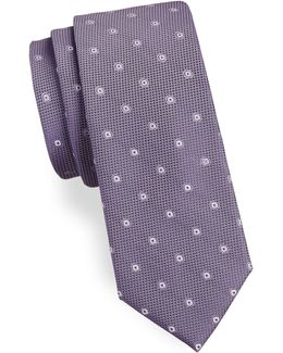 Two Print Silk Tie