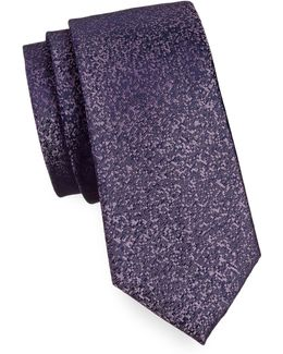 Pixelated Silk Tie