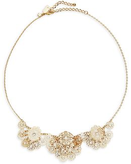 Filigree Floral Necklace