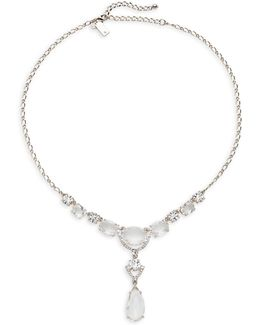 Crystal Cascade Mini Necklace