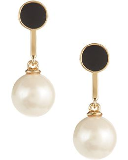 Shine On Bead Drop Earrings