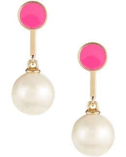 Shine On Bead Drop Earrings