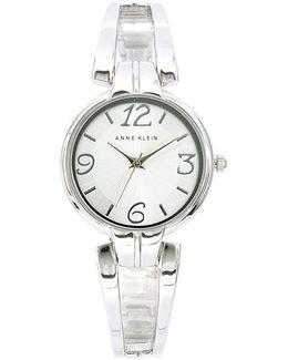 Analog Metals Collection Semi-bangle Bracelet Watch