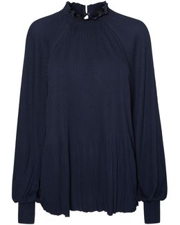 Alexandria Pleated Top