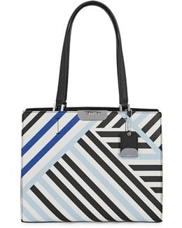 Lol Stripe Tote Bag