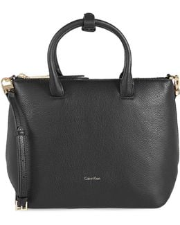 Nyla Pebble Leather Bag